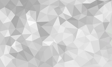 추상 회색 배경, 임의의 패턴에서 낮은 폴리 질감 삼각형 모양, 유행 lowpoly 배경 스톡 콘텐츠 - 63926188