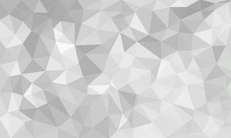 추상 회색 배경, 임의의 패턴에서 낮은 폴리 질감 삼각형 모양, 유행 lowpoly 배경