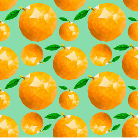 orange pattern seamless Иллюстрация
