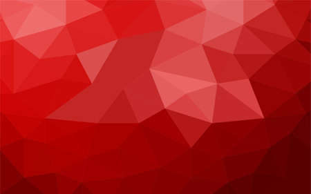 Abstract low poly colored background of triangles. Vector illustration.