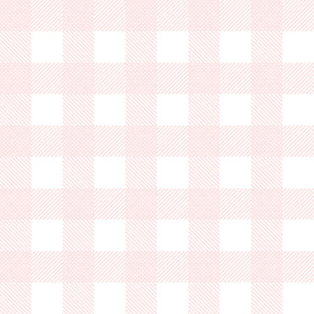 Pink seamless tartan background vector illustration.