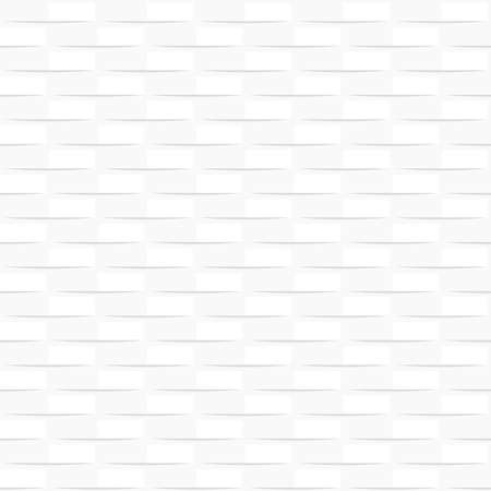 Modern white abstract background seamless pattern. Can be used for graphic or website layout vector illustration. Ilustração