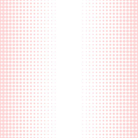 Abstract vector background. Halftone modern graphic template. Pink and white Dotted texture. vector illustration. Ilustrace