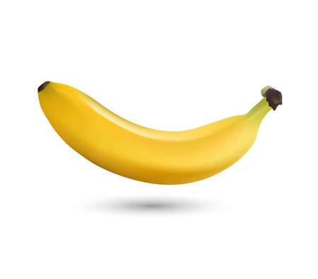 bananas isolated on white background, banana icon. Vector illustrator. Ilustrace
