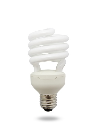 gas lamp: Light bulb isolated on a white background