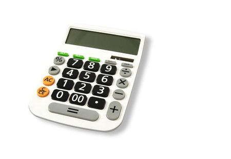 number button: Calculator  Stock Photo