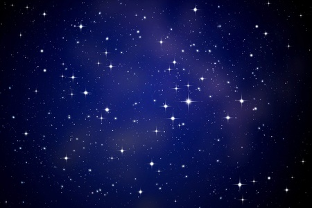night sky and stars: Stars in the night sky