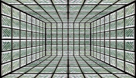 Glass Block Wall Room photo