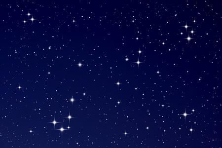 Stars in the night sky Foto de archivo