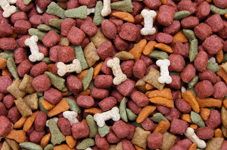 dog food background photo