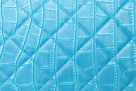 photographic effects: texture blue leather bag Stock Photo