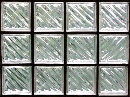 Pattern of Glass Block Wall Stock Photo - 10128276