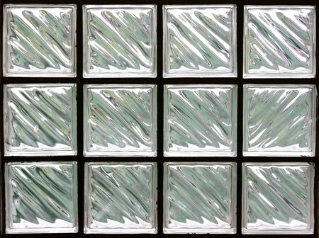 Pattern of Glass Block Wall Stock Photo - 10128276
