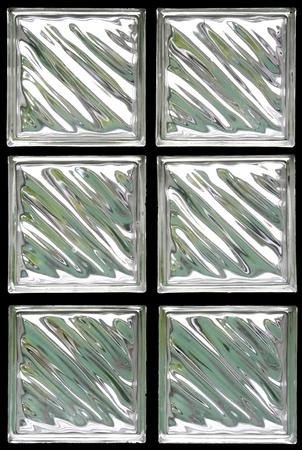 window pane: Pattern of Glass Block Wall Stock Photo