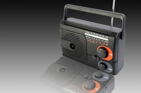 Radio black Stock Photo - 10128420
