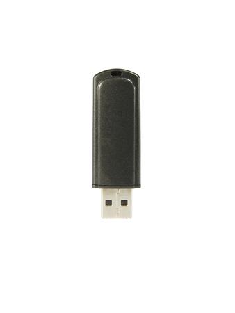 usb storage device: Usb flash drive isolated on white