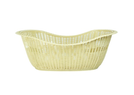 insulated: Basket on white background