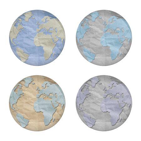 world paper symbol isolated photo