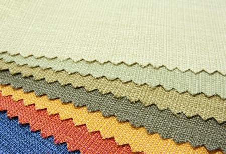 color tone texture of fabric sample