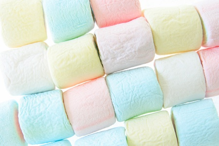 colorful marshmallow background photo