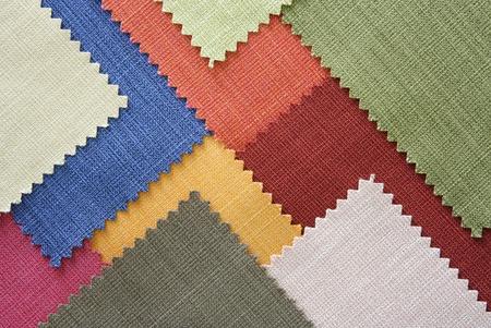 Multi kleur stof textuur monsters