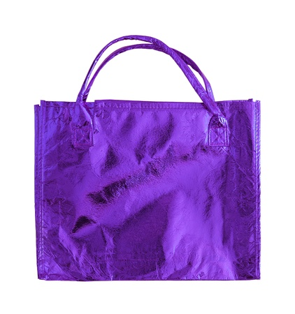 Blue shopping bag  photo