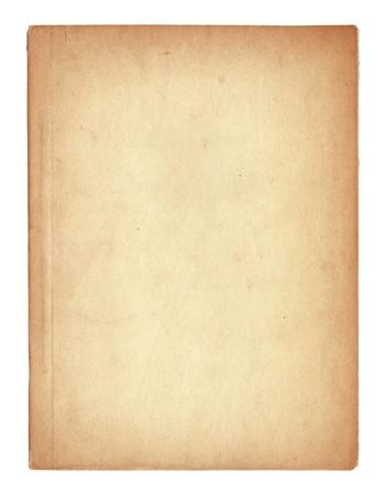 oud boek pagina's geïsoleerd op wit