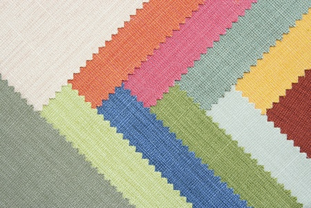 Multi color fabric texture samples Stock Photo - 12600014