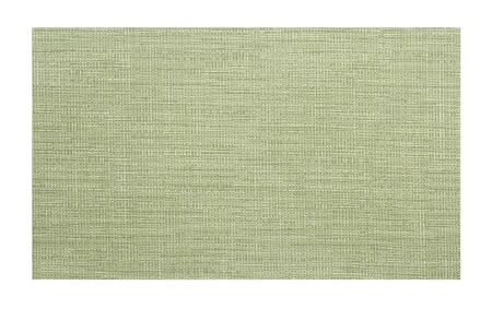 green fabric sample isolated on white background photo