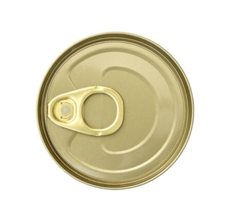 canned food: canned food isolated on white background with clipping path Stock Photo