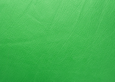 bumped: green leather texture