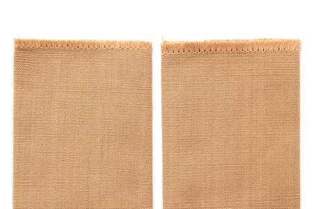 cotone marrone isolato su sfondo bianco Archivio Fotografico