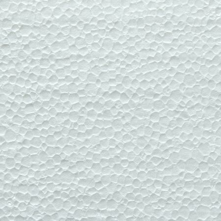 synthetically: White foam board texture background Stock Photo