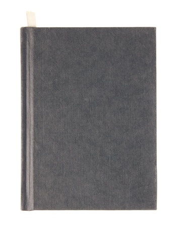 hardcovers: black book cover isolated on white background