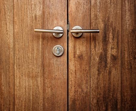 wood door Stock Photo - 18818050