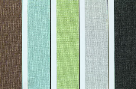 color tone of fabric swatch samples photo
