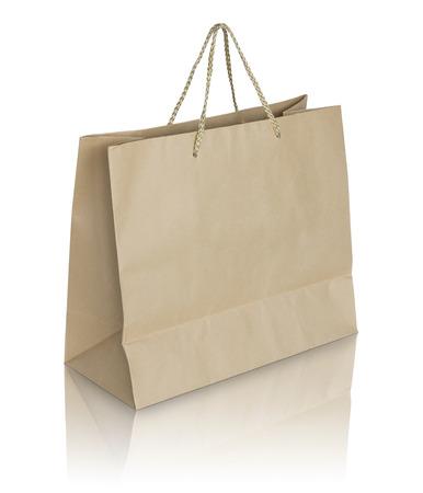 brown paper bag. Stock Photo
