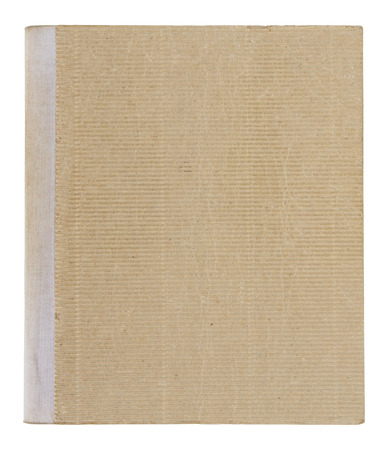old book cover: old book cover isolated on white