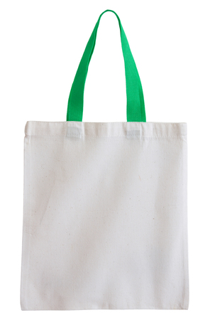 fabric bag: fabric bag isolated on white background with clipping path
