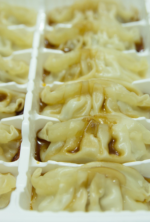 Chinese dumplings photo