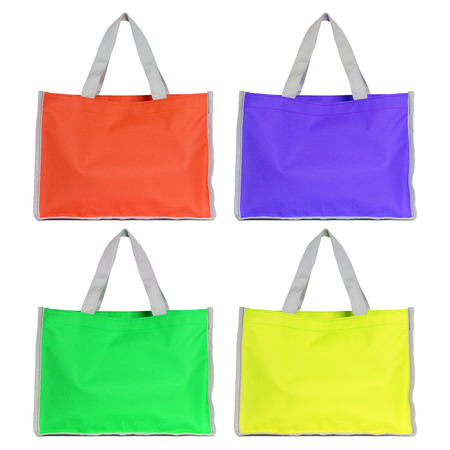 set of colorful shopping bag  photo
