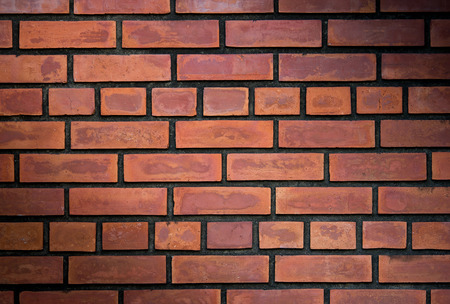 red brick: brick wall texture background