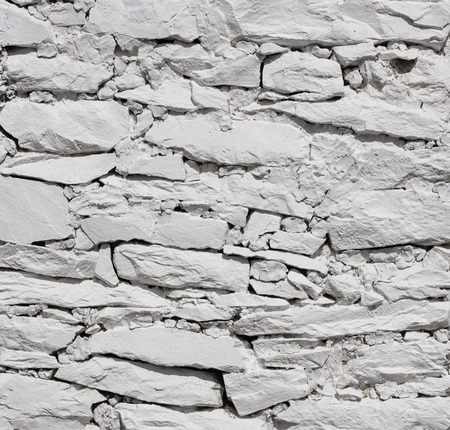 decorate: White stone wall texture background