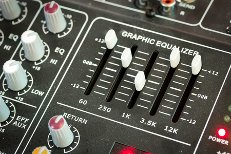 master volume: sound music mixer control panel