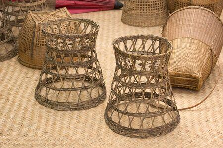 basket: Handmade basket Stock Photo