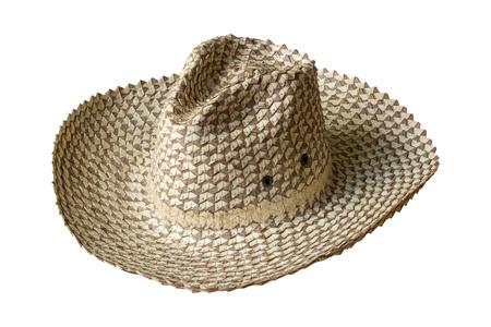 straw hat isolated on white background Stockfoto