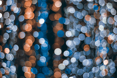 colorful light bokeh background