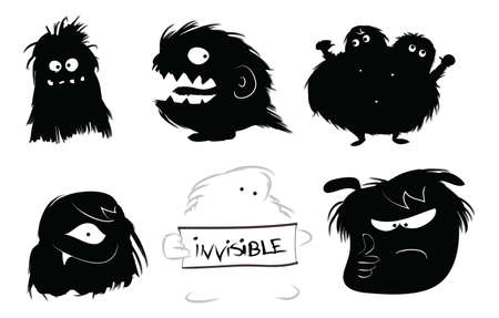 Hairy monsters