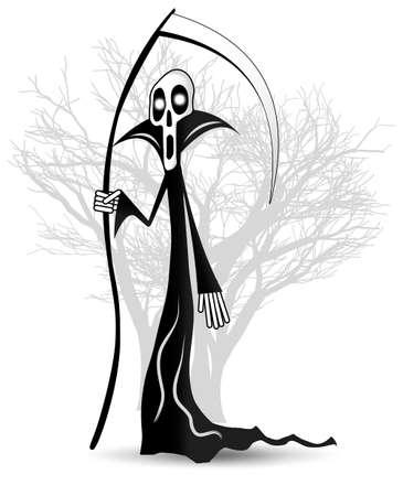 Death vector illustration