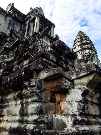 Angkor Wat Temple , Siem Reap, Cambodia  photo